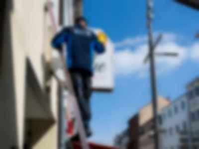 Reinigung Werbeschilder, Werbeflächen & Schaufenster Ihres Ladengeschäfts